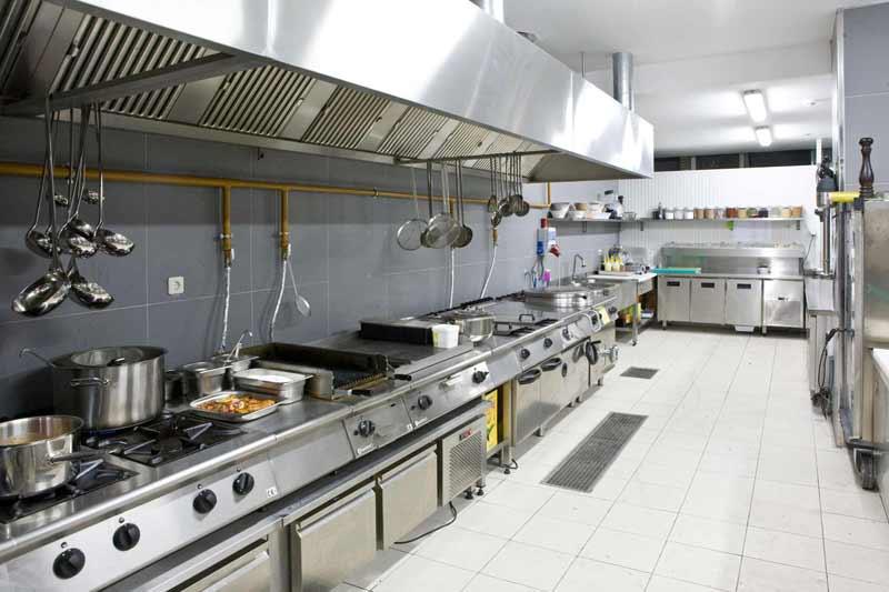 Örnek Bir Otel Mutfak Projesi Mutfak Alanı Pişirme Bölümü