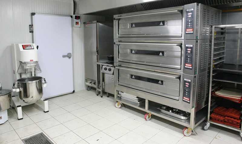Örnek Bir Otel Mutfak Projesi Mutfak Alanı Hazırlık Bölümü