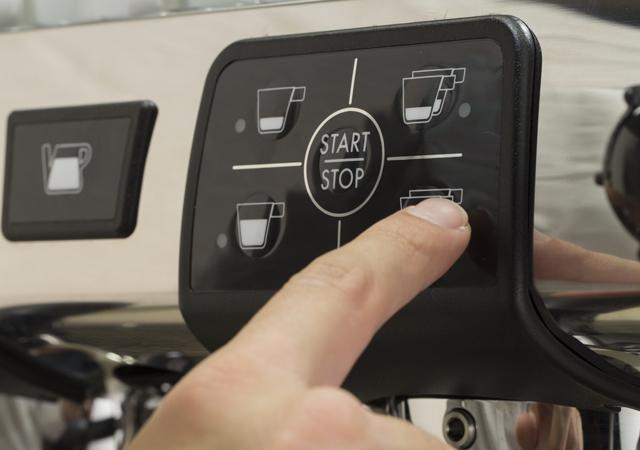 Cimbali M24 Plus kontrol paneli